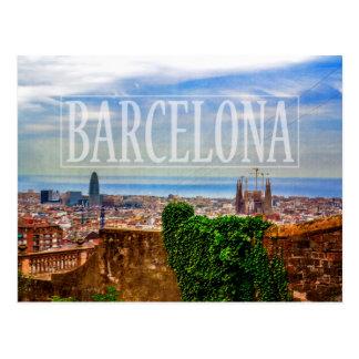 Postal Ciudad de Barcelona