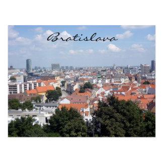 Postal ciudad de Bratislava