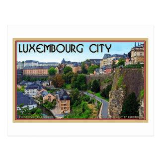 Postal Ciudad de Luxemburgo