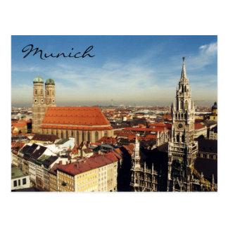 Postal ciudad de Munich