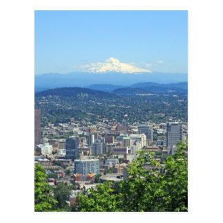 Postal Ciudad de Portland, Oregon y Mountain View