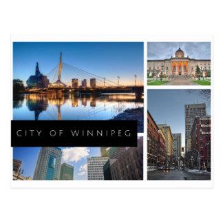 Postal Ciudad de Winnipeg