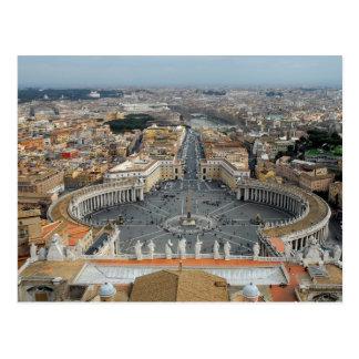 Postal Ciudad del Vaticano