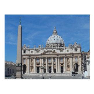 Postal Ciudad del Vaticano de la basílica de San Pedro