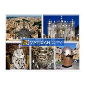Postal Ciudad del Vaticano del VA -