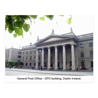 Postal Ciudad Irlanda de GPO Dublín