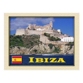 Postal Ciudad vieja de Ibiza, Balearic Island, España