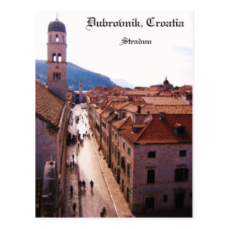 Postal Ciudad vieja Dubrovnik - Stradun