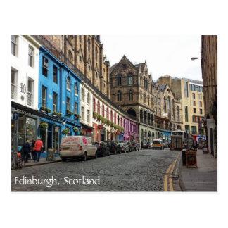 Postal Ciudad vieja, Edimburgo, Escocia