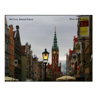 Postal Ciudad vieja, Gdansk Polonia, foto O…