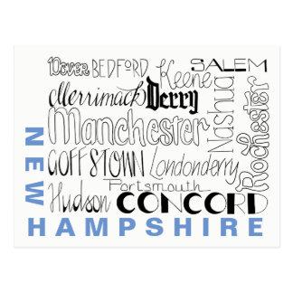 Postal Ciudades en New Hampshire