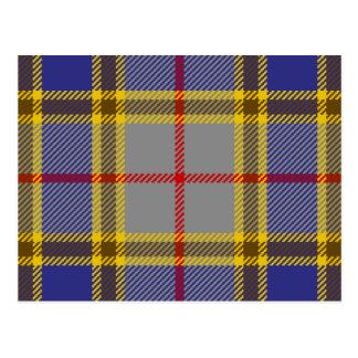 Postal Clan Balfour del tartán