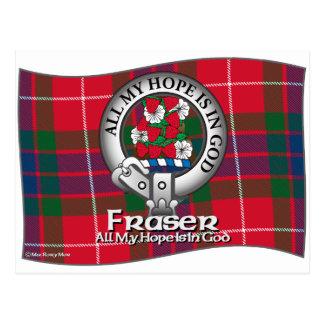 Postal Clan de Fraser