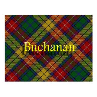 Postal Clan escocés Buchanan