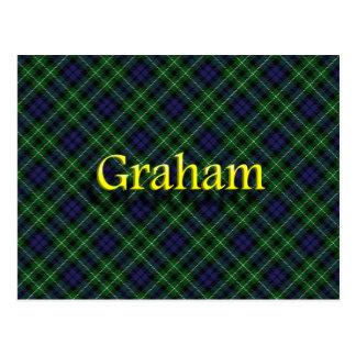 Postal Clan escocés Graham