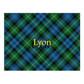 Postal Clan escocés Lyon