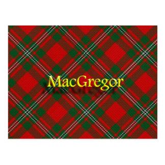 Postal Clan escocés MacGregor