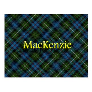 Postal Clan escocés MacKenzie