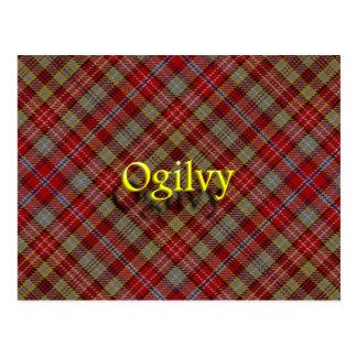 Postal Clan escocés Ogilvy