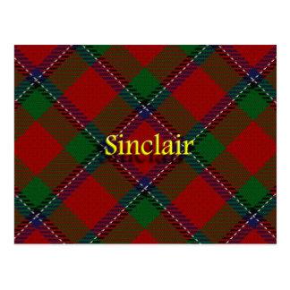 Postal Clan escocés Sinclair
