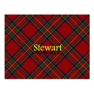 Postal Clan escocés Stewart