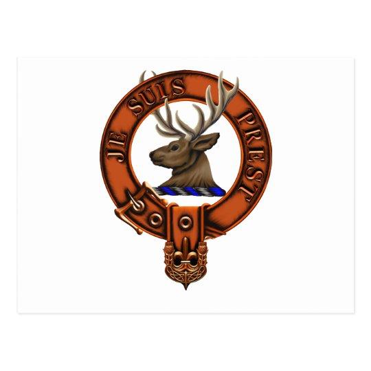 Postal Clan Fraser de Lovat