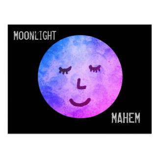 Postal Claro de luna Mahem
