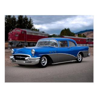 Postal clásica especial 1955 del coche de Buick