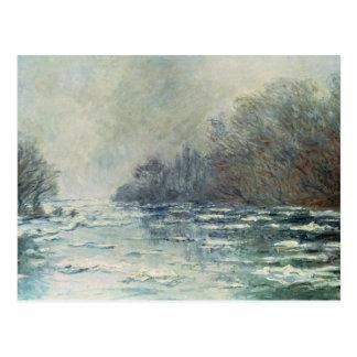 Postal Claude Monet el | la rotura para arriba en