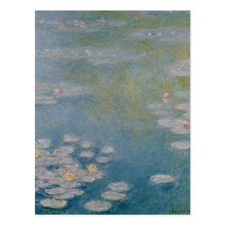 Postal Claude Monet el | Nympheas en Giverny, 1908