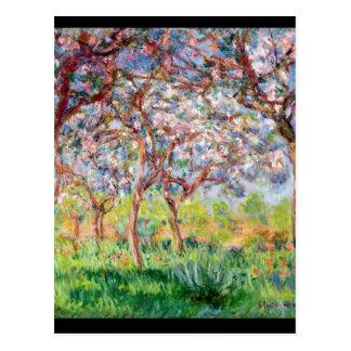 Postal Claude Monet el   Printemps un Giverny, 1903