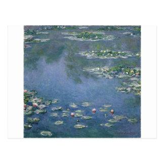 Postal Claude Monet - lirios de agua - Ryerson 1906