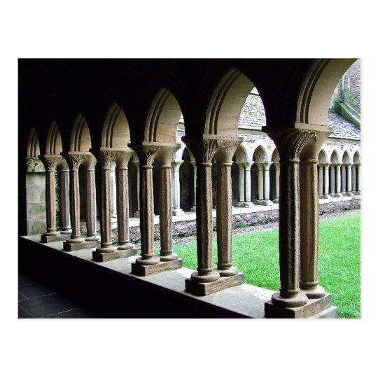 Postal Claustros, abadía de Iona