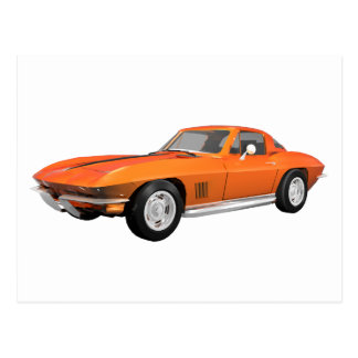 Postal Coche 1967 de deportes del Corvette: Final