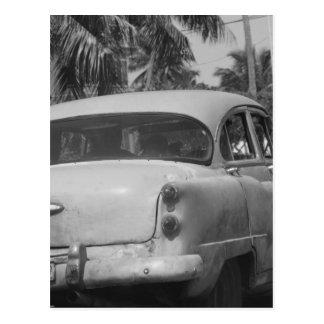 Postal Coche de Cuba