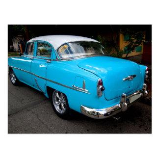 Postal Coches clásicos de Cuba 10