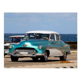 Postal Coches clásicos de Cuba 12