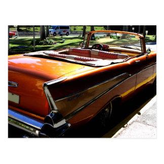 Postal Coches clásicos de Cuba 2
