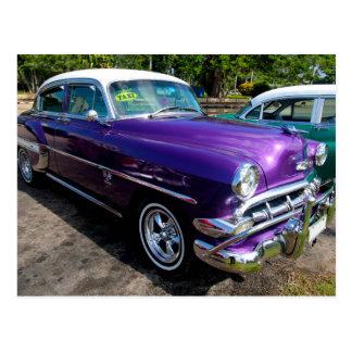 Postal Coches clásicos de Cuba 4