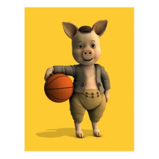 Postal Cochinillo de Basketballer