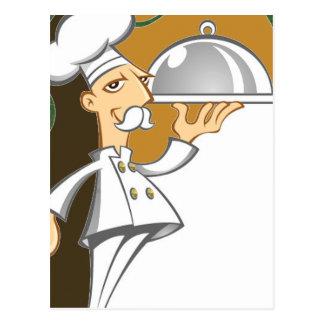 Postal Cocinero