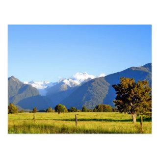 Postal Cocinero y soporte Tasman, Nueva Zelanda del