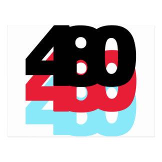Postal Código de área 480