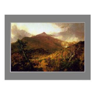 Postal Col de Thomas, Adirondacks de la montaña de