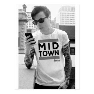 Postal Colección de la ciudad del Midtown por la ropa del