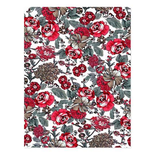Postal colección del batik no.16