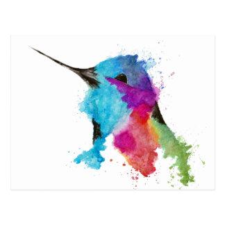 Postal colibrí