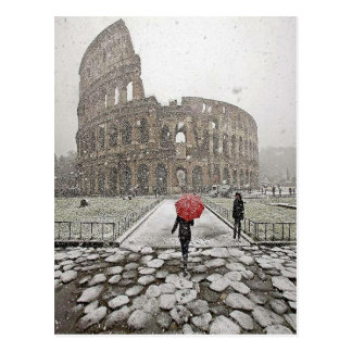 Postal Coliseo romano