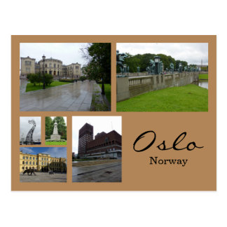 Postal Collage 1 de Oslo