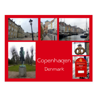 Postal Collage 3 de Copenhague